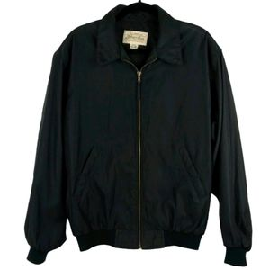 St Johns Bay Black Weather Jacket size M